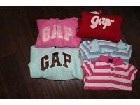 Gap girls clothes, hoodies, t-shirts