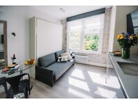 25-15 Limited offer 15% OFF PER WEEK- Brand new studio in Notting Hill all bills + internet included