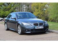 BMW 530D M SPORT! NEW MOT! 15 STAMPS! FRESH SERVICE! FULL LEATHER! RARE COLOUR! E60