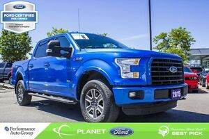 2015 Ford F-150 XLT FORD CERTIFIED LOW RATES & EXTRA WARRANTY!