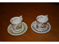 Royal Doulton Cup & Saucer sets