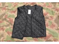Quilted Gilet Jacket Liners Royal Air Force and UK Police Issue