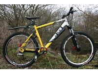 Carrera LRS 3 Full Suspension Mountain Bike 20 Inch Fully Serviced