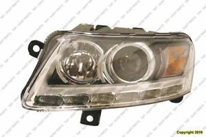 Head Light Driver Side Xenon With Auto Leveling Without Curve High Quality Audi A6 2009-2011