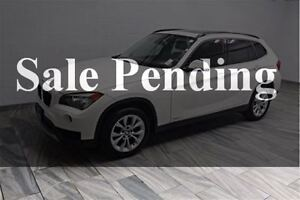 2014 BMW X1 xDrive28i! AWD! PREMIUM PACKAGE! PANO SUNROOF! HEA