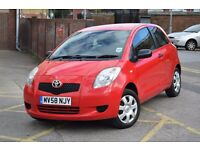 2008 TOYOTA YARIS T2 1.0 PETROL*3 MONTHS WARRANTY & BREAK DOWN COVER*FSH*1 FORMER KEEPER