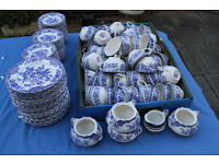 A Quantity of Crown Ducal blue and white mix