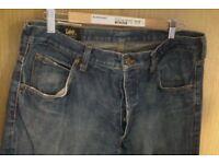 """Lee Denver Flare Jeans 36"""" waist - light blue"""