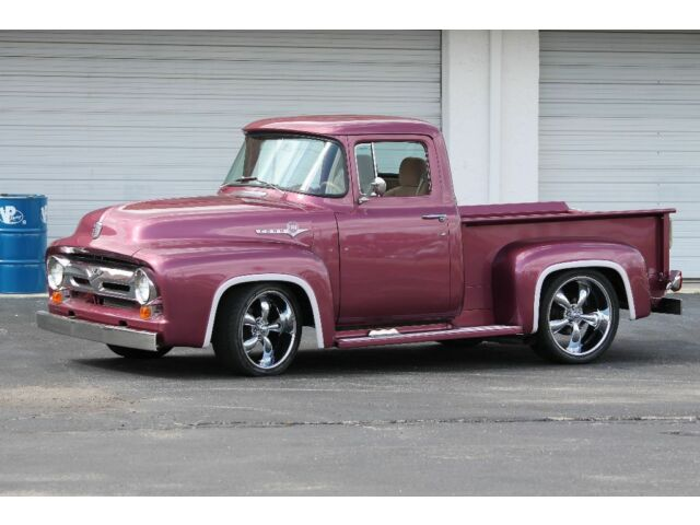 Ford : F-100 Truck 1956 Ford F100 Resto Mod all Ford power! HD VIDEO