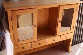 Solid Oak Large Dresser