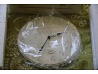 Babies christening clock