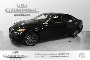 2015 Lexus IS F SPORT 2 350 AWD NAVIGATION - CAMERA- DESIGN SPOR