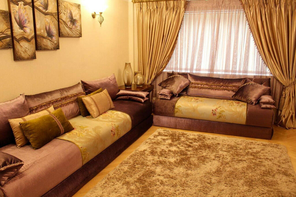 Hand Made Moroccan Sofa Suite