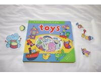 Toys, A felt fun world of play book
