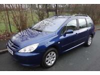 2005 Peugeot 307 2.0 HDI Diesel ESTATE, ONLY 88,000 MILES!!!!!!! 1 OWNER 406 407 206 laguna megane