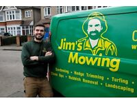 Jims Mowing - Garden Maintenance company based in East London. Mowing, Pruning, Clearance, Planting