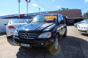 2001 Mercedes-Benz ML55 AMG Five Dock Canada Bay Area Preview