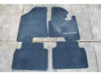 Car mats, Boot tray and Headlamp protectors for Kia Sportage 2010-2015