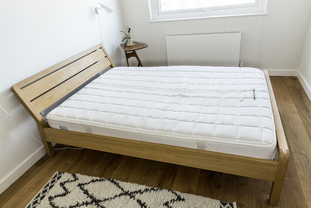 Habitat RADIUS Oak double bed 135cm | in East London, London | Gumtree