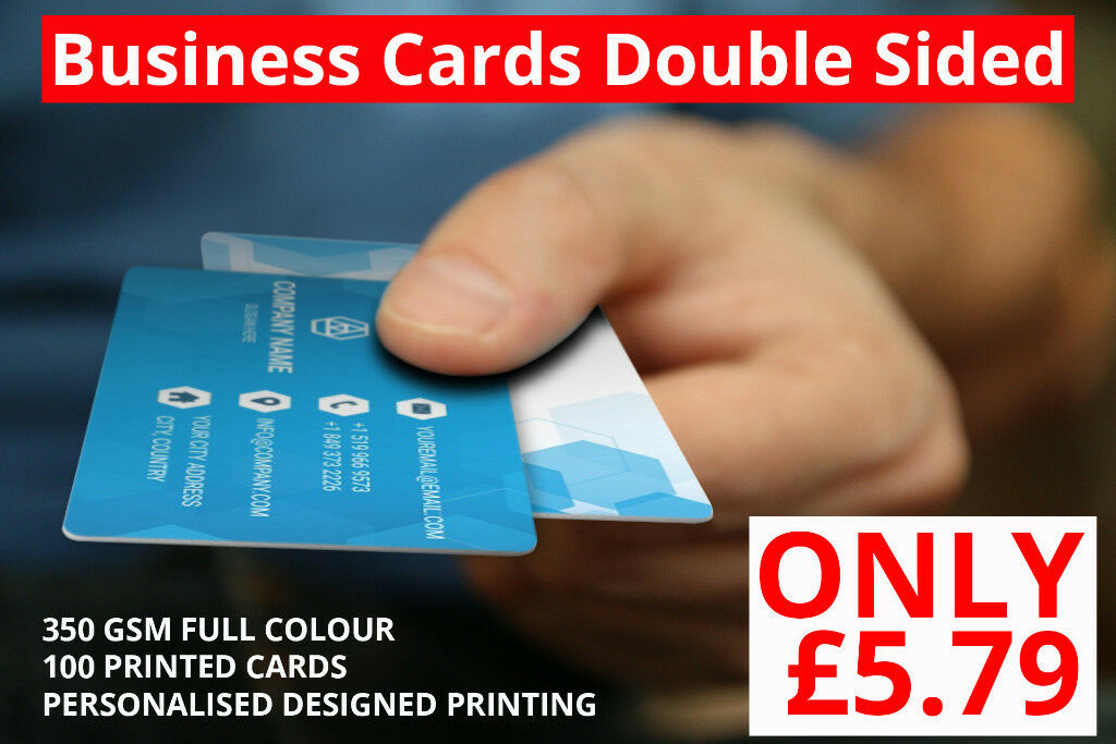 Full color printed business card in high wycombe buckinghamshire full color printed business card high wycombe reheart Choice Image