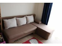 Corner Sofa Bed; clean, convenient and cheap!