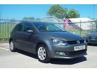 Volkswagen Polo Match Edition (TOP SPEC, FULL MAIN DEALER HISTORY, NEW FRONT TYRES,)