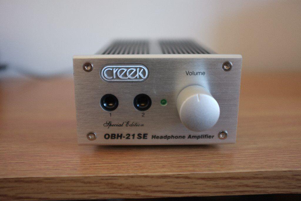 Creek OBH 21-SE Headphone Amplifier
