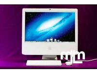 "WHITE 17"" APPLE IMAC COMPUTER 1.83GHZ 2GB 160GB ABLETON LOGIC PRO 9 FINAL CUT PRO X MICROSOFT OFFICE"