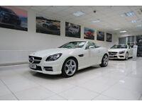 MERCEDES-BENZ SLK 1.8 SLK200 BlueEFFICIENCY AMG Sport Edition 125 7G-Tronic Plus 2dr Auto 2011