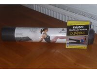 Pilates Weight Loss Workout Dvd Plus Unopened Exercise Mat With Tracey Thompson Easy To Follow