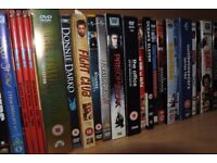 DVD collection, TV and film, box sets - over 50 titles