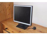 17in flat screen monitor