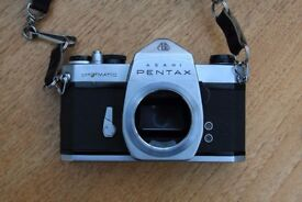 Vintage Asahi Pentax Spotmatic Film Camera Body only Good Condition *** £25 ono***