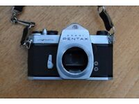 Vintage Asahi Pentax Spotmatic Film Camera Body only Good Condition *** £25 ono***