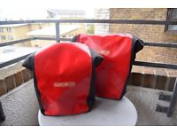 Waterproof Ortlieb Front and Back Roller City Pannier (pair) (one never used!)