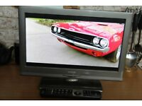 "Linster 19"" TV with built in DVD and FREEVIEW"