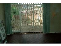 BANHAMS security gates(iron) 269cm w X 241cm d,