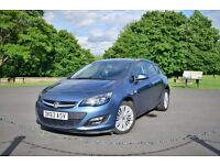 VAUXHALL ASTRA J ENERGY BLUE 100BHP 5DR 1.4 PETROL * LOW MILES * MK6