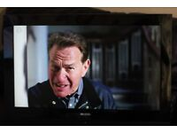 """32"""" ACOUSTIC SOLUTION LCD32761HDF FULL HD LCD TV WITH BUILT IN FREE VIEW IN GREAT CONDITION."""