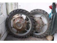 Row crop tyres Massey ferguson T20 Tractor tyres £120
