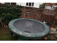 FREE Trampoline Jump Pod 7.5ft - No Net Just Trampoline - Poles Available if you wish to buy new net