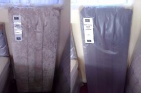 NEW Myer Adams Double Headboards in Stone or Brown