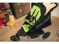 PHIL & TEDS DOUBLE BUGGY EXPLORER SPORT VGC toddler / baby / newborn + loads of extras
