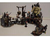 Lego Hobbit - The Goblin King Battle