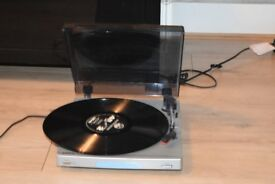 BUSH MINI RECORD PLAYER CAN BE SEEN WORKING