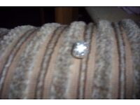 genuine pandora charm swirl clip with diamontees