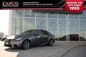 2014 Lexus IS 250 ULTRA PREMIUM NAVIGATION/LEATHER/SUNROOF
