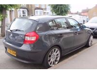1 Series BMW Excellent Condition, 1 year MOT, Nice colour, £2650