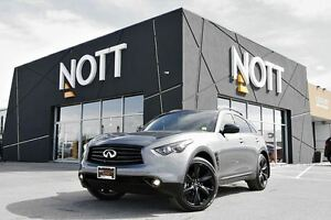 2016 Infiniti QX70 Sport AWD, LIKE NEW! Nav, Around-view, 21 whe