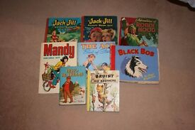 Collection of Old Books (Including Robin Hood, Jack and Jill)